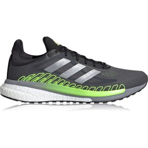 Adidas Solarglide St Running Shoes Mens Grey/orange 123544 11 212068, Grey/Orange