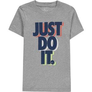 Nike Sportswear Big Kids T Shirt Grey 392806 M 595525, Grey