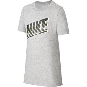 Nike Sportswear Big Kids T Shirt Grey 393819 L 595526, Grey
