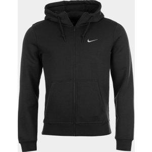 Nike Sportswear Club Fleece Mens Full Zip Hoodie Black 241500 S 531019, Black