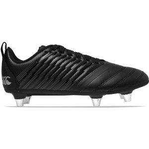 Canterbury Stampede 3 Sg Rugby Boots Junior Boys Black/grey 569251 Eccb 098025, Black/Grey