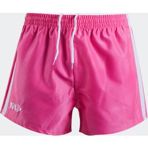 Isc Supporters Rugby Shorts Pink/white 62298 L 7pnksh1a, Pink/White