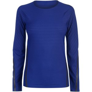 Adidas Techfit Long Sleeve T-shirt Ladies Mystery Ink 150065 Xs 343140, Mystery Ink