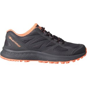 Karrimor Tempo Ladies Trail Running Shoes Grey/coral 321795 4 214268, Grey/Coral