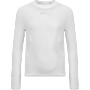 Canterbury Thermo Long Sleeve T Shirt Junior Boys White 336926 S 427625, White