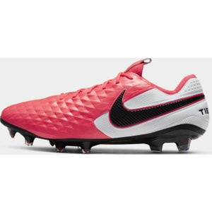 Nike Tiempo Legend 8 Elite Mens Fg Football Boots Crimson/black 331468 11 201145, Crimson/Black