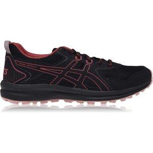 Asics Trail Scout Ladies Trail Running Shoes Black/rose 407218 4 216054, Black/Rose