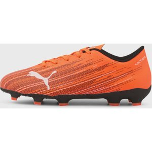 Puma Ultra 4.1 Junior Fg Football Boots Orange/black 391158 3 087037, Orange/Black