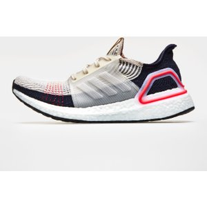 Adidas Ultraboost 19 Shoes Mens Brown/wht/red 60697 8 B37705, Brown/Wht/Red