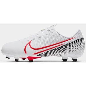 Nike Vapour 13 Firm Ground Football Boots Child Boys White 461485 1h 731635, White