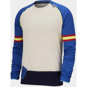 Nike Wild Run Layer T-shirt Mens Ivory/royal 273979 S 452037, Ivory/Royal