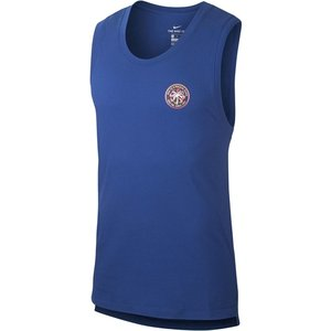 Nike Wild Run Tank Top Mens Indigo 255708 M 451142, Indigo
