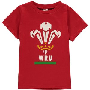 Unbranded Wru Short Sleeve T Shirt Infant Boys Red 347157 36m 420526, Red