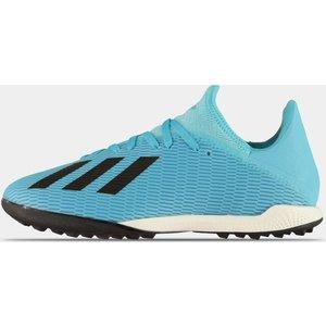 Adidas X 19.3 Astro Turf Trainers Cyan/black 307284 10 263233, Cyan/Black