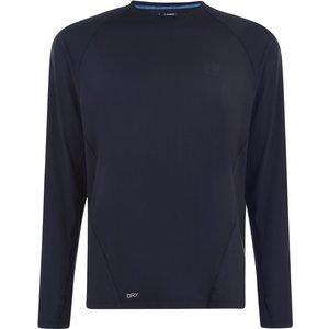 Karrimor X Lite Long Sleeve T Shirt Mens Navy 287742 M 451216, Navy