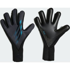 Adidas X Pro Goalkeeper Gloves Mens Grey/cyan 393030 10 832091, Grey/Cyan