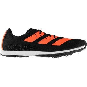 Adidas Xc Sprint Mens Running Spikes Black/orange 275981 9 218058, Black/Orange