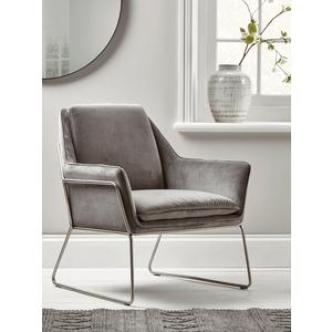 Carter Occasional Chair - Grey Velvet 1225235