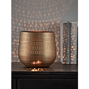 Antique Copper Tea Light Holder 1126269