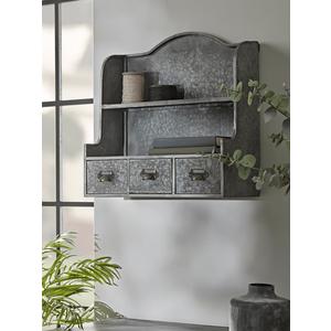 New Audrie Zinc Shelving Unit 1728072