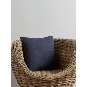 New Cotton Quilted Cushion - Indigo 1827912