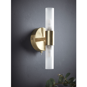 New Frosted Glass Double Wall Light 1329118