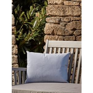 New Indoor Outdoor Rectangular Cushion - Soft Blue 1528110