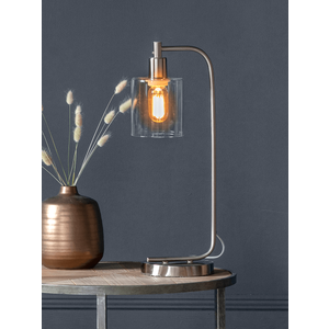 New Industrial Desk Lamp - Brushed Silver 1326457