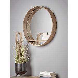 Round Shelf Wall Mirror 1426190