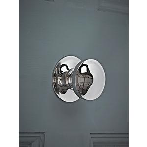 Nickel Centre Door Knob 1521151
