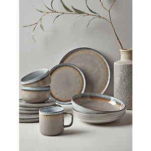 Six Maja Stoneware Pasta Bowls 1125904