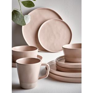 Six Speckled Cereal Bowls - Blush 1125759