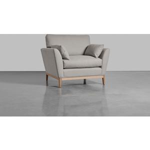 The Nordic Armchair - Ash Linen Cotton Blend (sample) Sr 1925528