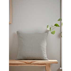Washed Linen Square Cushion - Dusky Sage 1825305