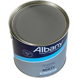 Albany - Raven Grey - Soft Sheen Emulsion 5 L 78616 Painting & Decorating