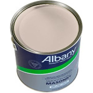 Albany Smooth Masonry - Cameo - Smooth Masonry Paint 2.5 L 87229 Painting & Decorating