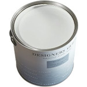 Designers Guild - Plaster White - Perfect Masonry Paint 2.5l 144406 Painting & Decorating