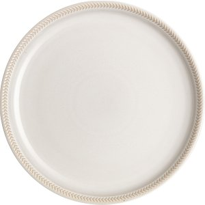 Denby Natural Canvas Textured Coupe Dinner Plate Seconds 375052555