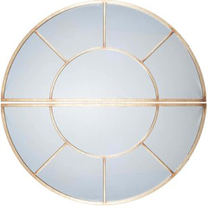 2 Oval Section Wall Mirror, Antique Gold Barker and Stonehouse AGLD7302ST54