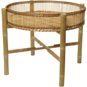 Bamboo Side Table Barker And Stonehouse Bbmo1609st55