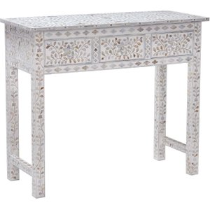 Clipper Console Table, Mother Of Pearl Barker and Stonehouse 5CLID23MBULK