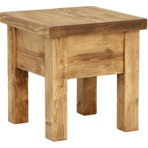 Covington Reclaimed Wood Lamp Table Barker and Stonehouse 5CVTLAMPPBRN