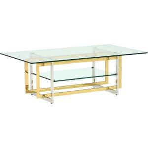 Escher Glass Coffee Table Barker And Stonehouse Eschcoffstdf