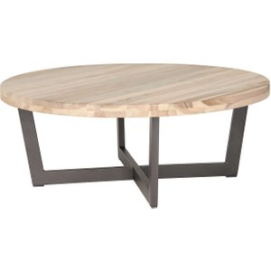 Ivy Coffee Table, Silverstone And Aged Teak Barker And Stonehouse 2ivycoffclea