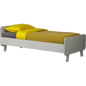 Milne Single Bed, Warm Grey Barker and Stonehouse 9MLEBD+SWGRY