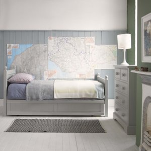 Pippin Single Bed With Trundle Barker and Stonehouse PIPIBEDTCOL3