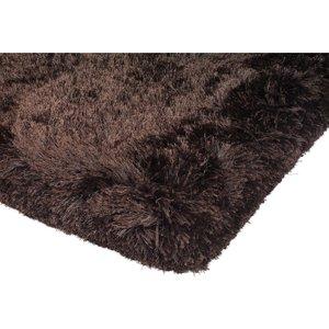 Plush Hand Woven Rug, Dark Chocolate Barker And Stonehouse Plush Chocolate