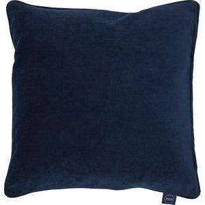 Plush Velvet Cushion, Navy Barker And Stonehouse Bspv1111st42