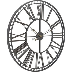 Skeleton Mirrored Wall Clock Barker And Stonehouse Skel7919st52