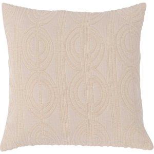 Woven Cushion, Cream Barker And Stonehouse Wveo1831st42